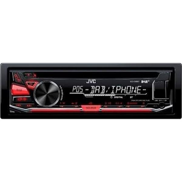 KD-DB67  1 DIN RADIO/CD/USB